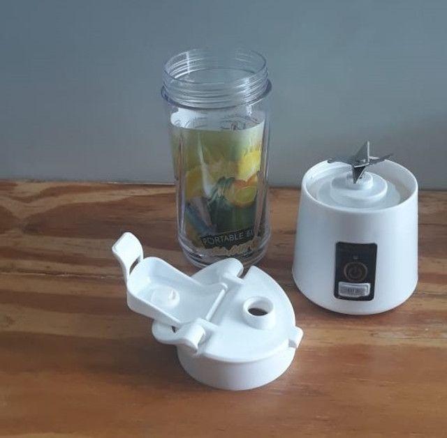 Mini liquidificador portátil  - Foto 2