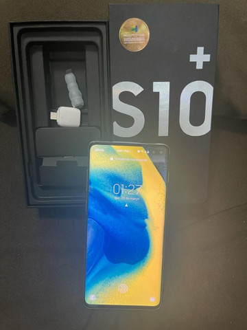 Samsung Galaxy S10 PLUS 128GB Branco + NF