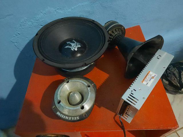 Fonte 50 amperes,fone de Rex magnum novos nunca usado kit os 4 por 550,00