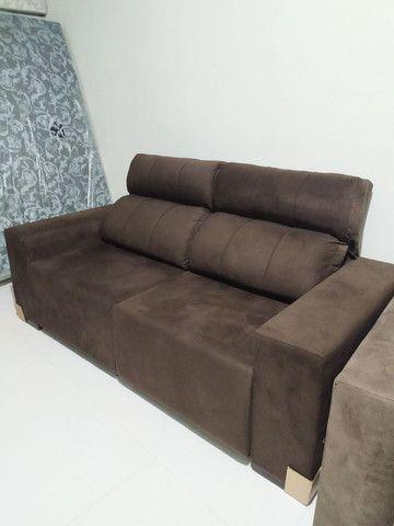 Sofá retrátil e reclinável - Foto 5