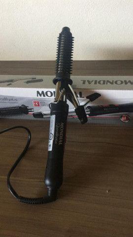 Escova Modeladora Mondial - Usada - Foto 3