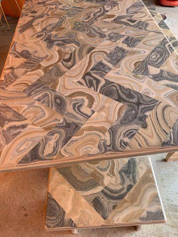 Mesa feita de pedra  - Foto 5
