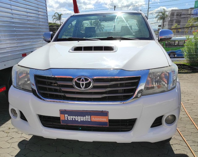 Hilux SRV 3.0 4x4 Diesel Cabine Simples 2008 Completo  -  Raridade - Foto 5