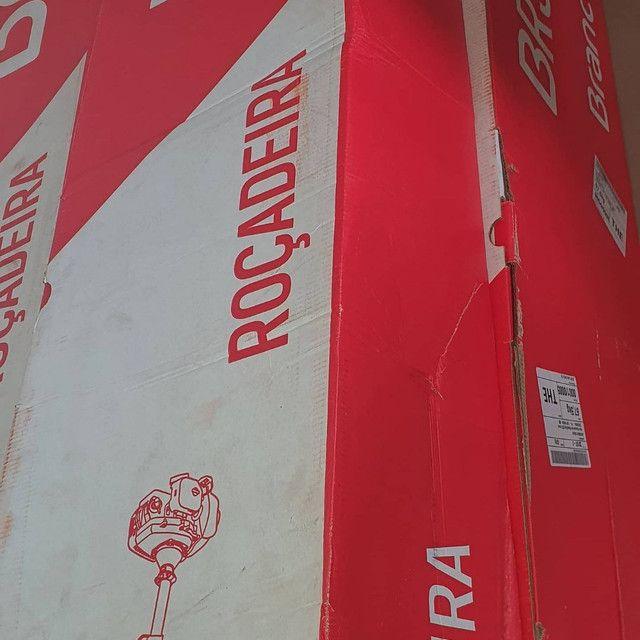 Roçadeira Branco 52cc  NOVA  - Foto 2