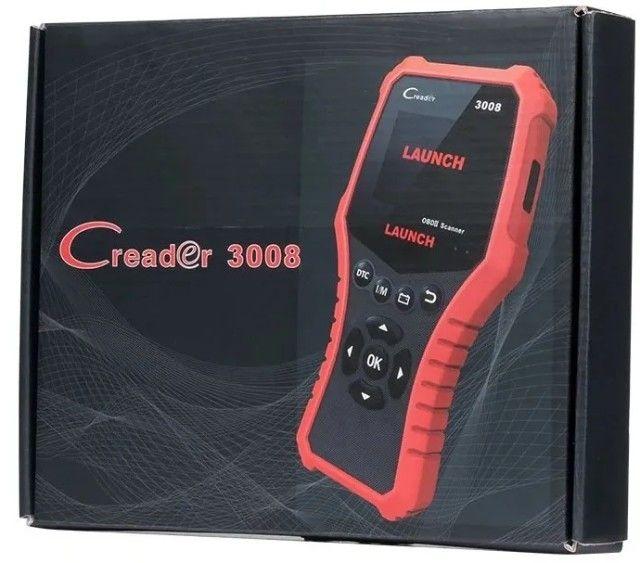 Scanner injeção Launch Creader 3008 - Foto 3