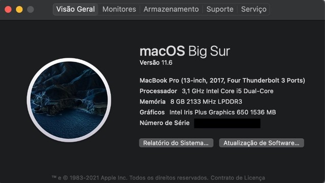 MacBook Pro A1706 i5 8gb Ssd 256 13'' Touch Bar + Hyper Drive - Foto 6
