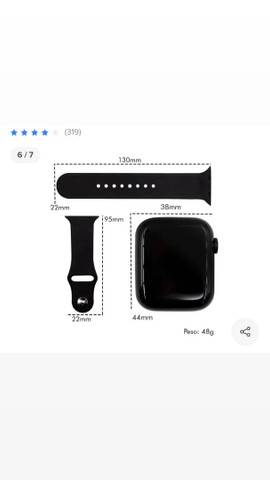 Smartwatch iwo13 Max,relógio inteligente  - Foto 6