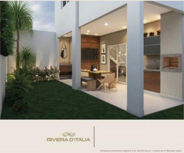 Condomínio Riviera D`Itália Casa Isolada 3 Suítes 2 Vagas - Foto 17