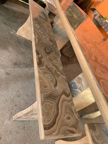 Mesa feita de pedra  - Foto 2