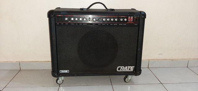Amplificador Guitarra EUA Crate GXT100. Não aceito troca! - Foto 2