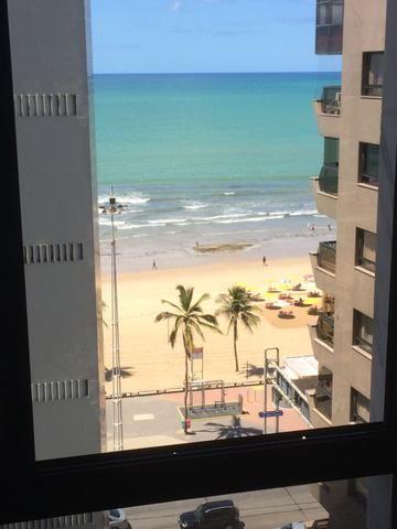 Flat mobiliado vista p o Mar - toda estrutura de hotel - R dos Navegantes