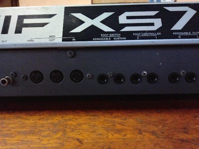 Yamaha Motif XS7 - Foto 5