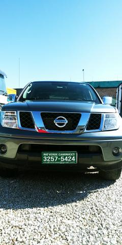 "Caminhao X Nissan Frontier SEL 2.5 Diesel 4x4 Automatica Ano 2008 ""Completa"" - Foto 6"