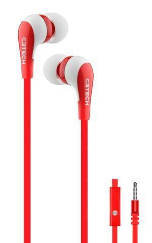 Fone de ouvido c/ microfone c3tech spirit vermelho celular tablet - ananindeua aurá