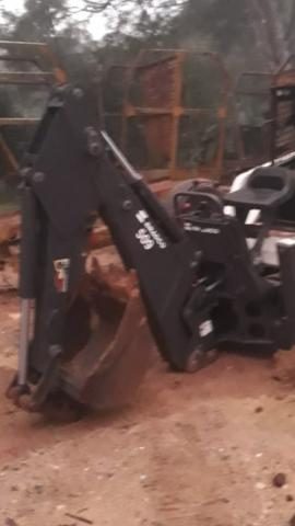 Braco escavador para mini carregadeira - Foto 2
