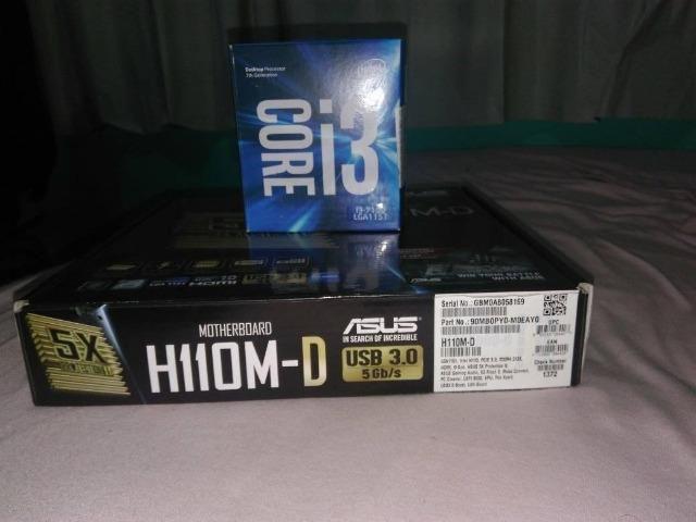 I3 7100+mb h110M-D(DDR4) - Foto 2