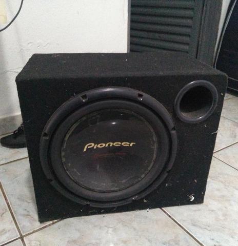 Caixa com auto falante Pioneer