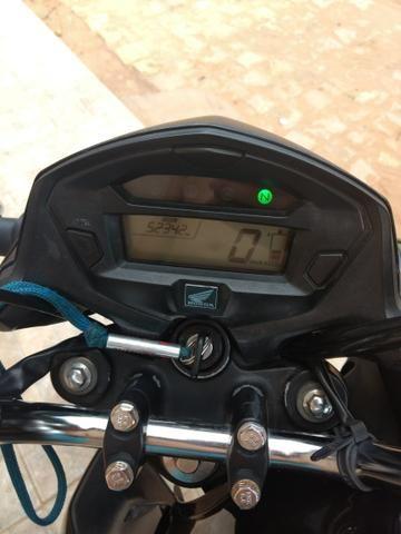 Vendo ou troco por moto de menor valor 160 2016 - Foto 2