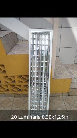 Luminária de alumínio