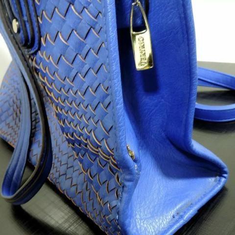 Bolsa Original Veryrio Azul Feminina - Foto 2