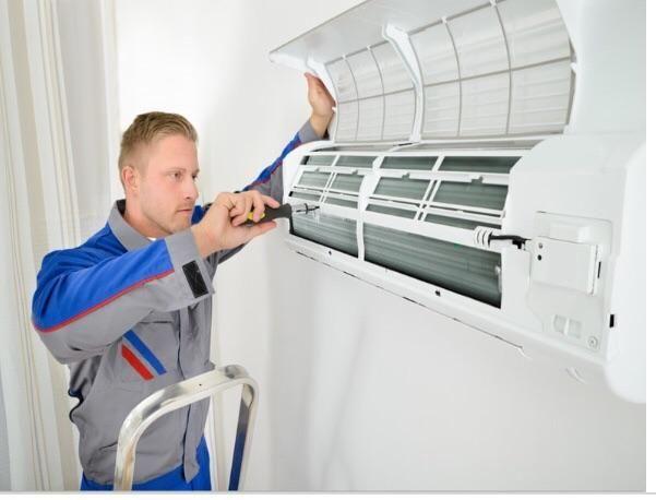 Manutenção instalação de ar condicionado