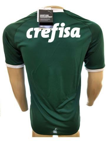 6ea1e7ff0e740 Camisa Puma Palmeiras I 19 20 sn verde Feminina ou Masculina ...