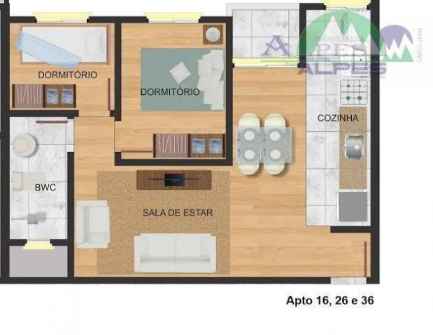 Apartamento residencial à venda, colônia murici, são josé dos pinhais. - Foto 12