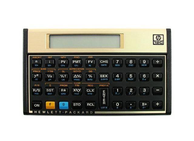 Calculadora Financeira HP 12C Semi Nova