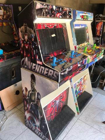 40b0af24d Fliperama bar top Maquina Fliperama Arcade Multijogos Bartop ...