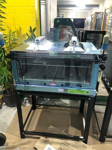 Forno á gás pedra refratária inox com infra vermelho- marca venâncio- a partir de r$ 1.650 - Foto 5