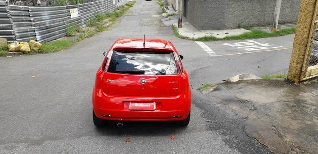 Fiat/ Punto sporting 1.8 2012 completo câmbio manual troco carro/moto - Foto 8
