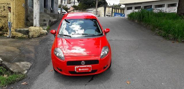 Fiat/ Punto sporting 1.8 2012 completo câmbio manual troco carro/moto - Foto 7