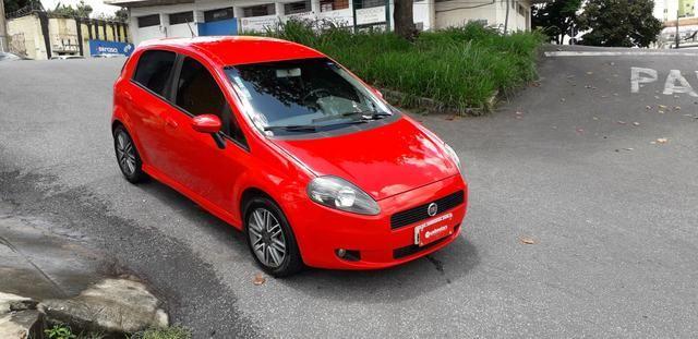 Fiat/ Punto sporting 1.8 2012 completo câmbio manual troco carro/moto - Foto 2