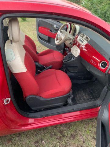 Fiat 500 2013 1.4 Flex Manual Completo - Foto 8