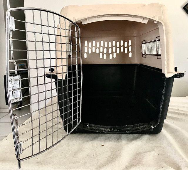 Caixa de Transporte para cães - média - Foto 2