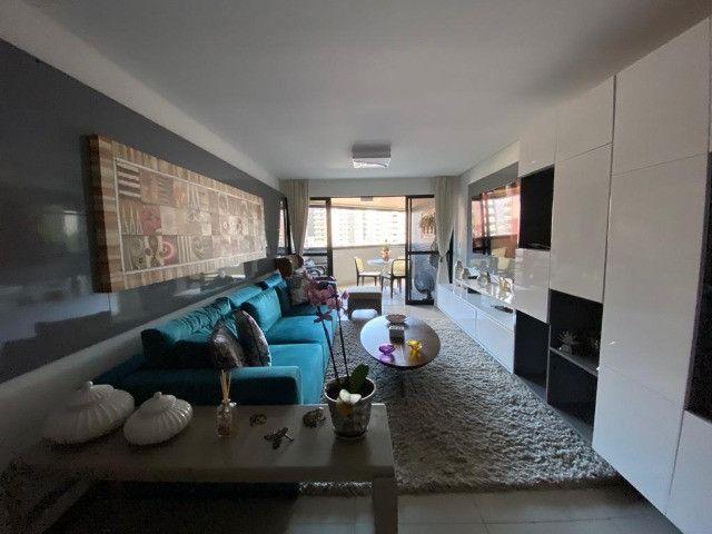 Apartamento 3 Suítes, Mobiliado, 157m², Alto Padrão - Ponta Verde - Foto 11