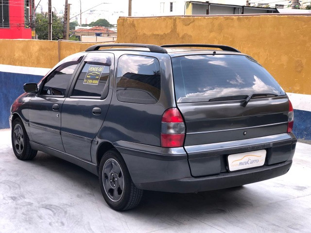 Fiat Palio Weekend 1.0 6 marchas. Carro completo! - Foto 4