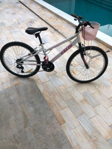 Bicicleta aro 24 esportiva Caloi 21 marchas