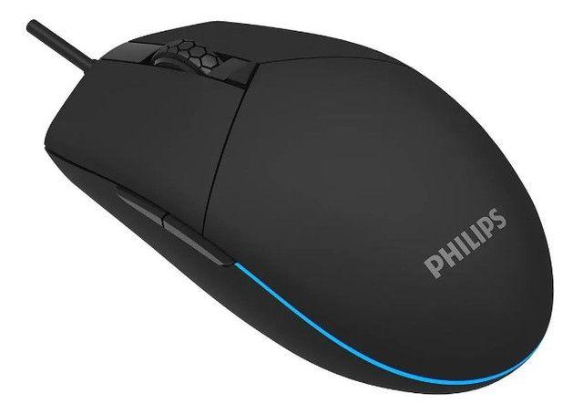 Mouse Gamer Philips Momentum G304 Preto - Loja Natan Abreu  - Foto 2