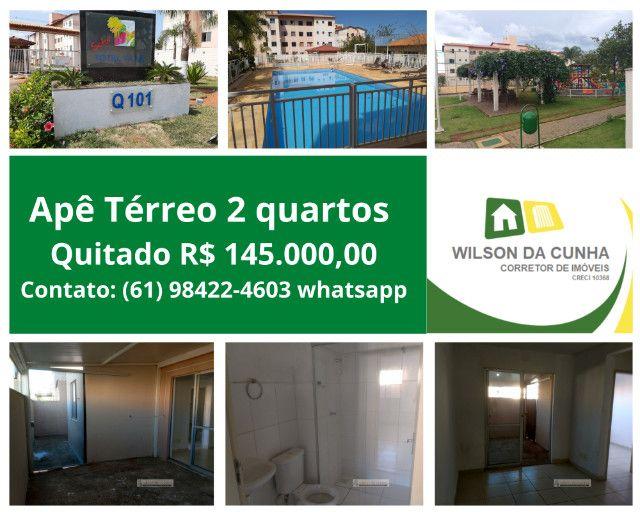Wilson da Cunha Vende | Térreo 2 quartos | Total Ville QD 101