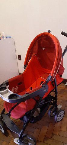 Carrinho de  bebê marca Chicco - Foto 2