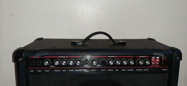 Amplificador Guitarra EUA Crate GXT100. Não aceito troca! - Foto 3