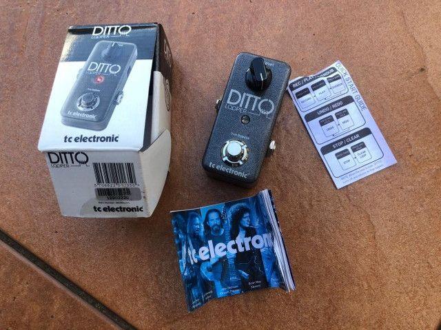 Pedal Looper - TC Eletronic - Ditto