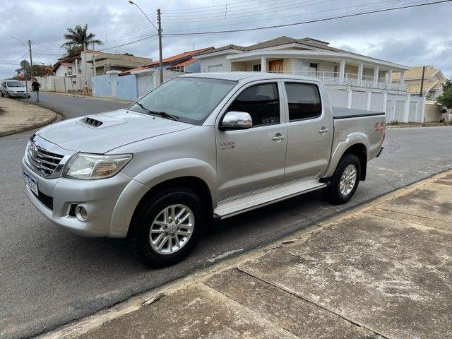 Toyota Hilux 3.0 SRV 2013 TOP Controle tração OPORTUNIDADE ABAIXO FIPE - Foto 5