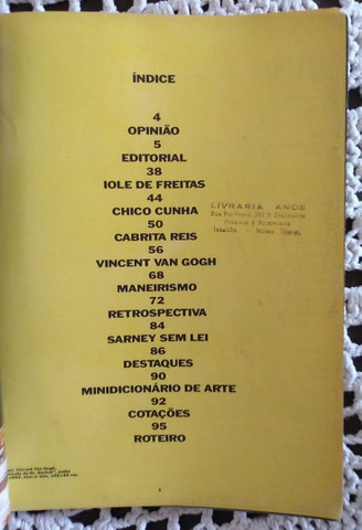 Galeria Revista de Arte N° 19 1990 - Foto 3