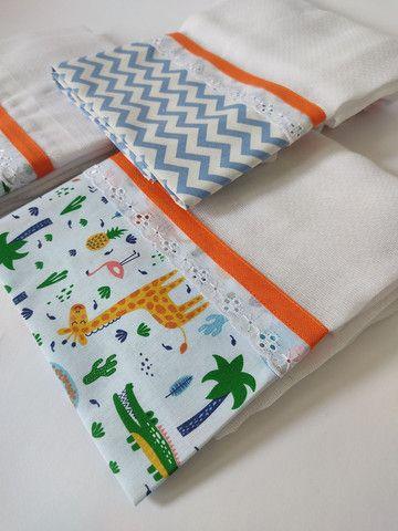 Fraldas e toalhas personalizadas - Foto 2