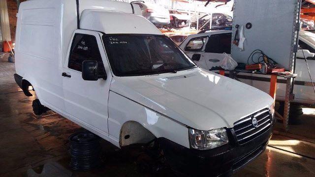 Peças usadas Fiat Fiorino 2006 1.3 gasolina 65cv câmbio manual