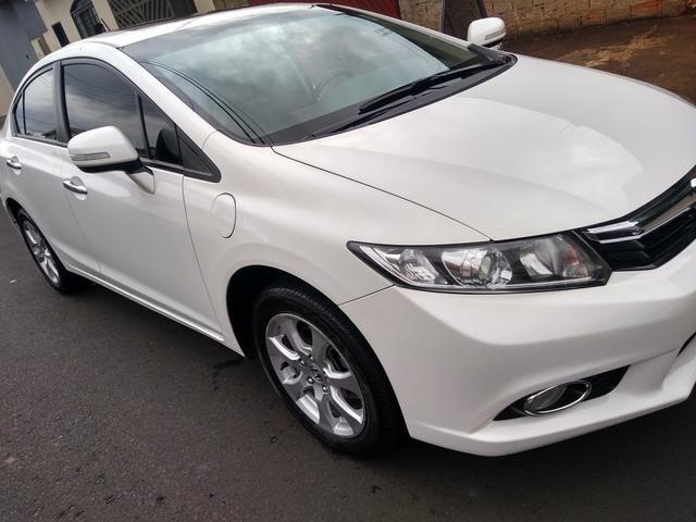 Honda Civic 1.8 EXS 2012/2012 Branco Bem Conservado