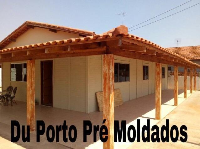 Casa Pré Fabricada Moldada Semi Pronta
