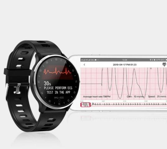 Relógio Smartwatch Ecg N58 A9 Mediatek Pronta Entrega